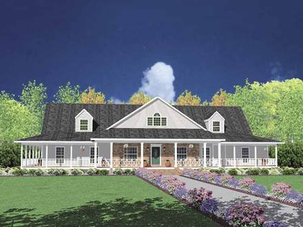 Ranch House Plans with Basements Ranch House Plans with Wrap around Porch
