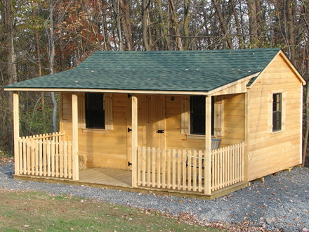 Rustic Log Cabins Sheds Log Cabin Storage Shed Kit