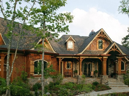 Rustic Mountain Style House Plans Rustic Mountain Home Plans