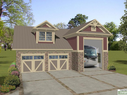 RV Garage with Apartment Plans Apartment Over Garage with RV