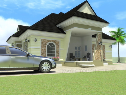 Saltbox House Bungalow House with 4 Bedrooms