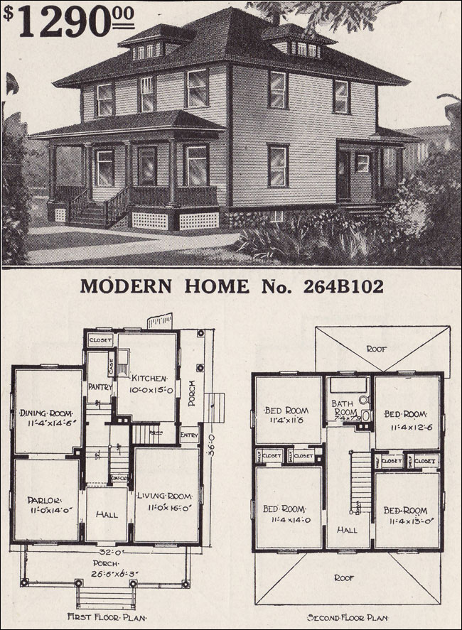 Historic Bungalow House Plans