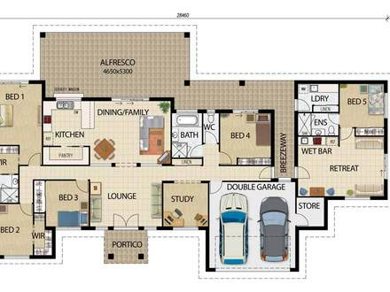 Simple 1 Bedroom House Plans Flat House Plans