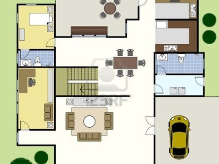 Simple Two-Story House Plans Simple House Floor Plan Design