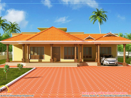Single Floor Kerala Home Design Kerala Single Floor Home Design