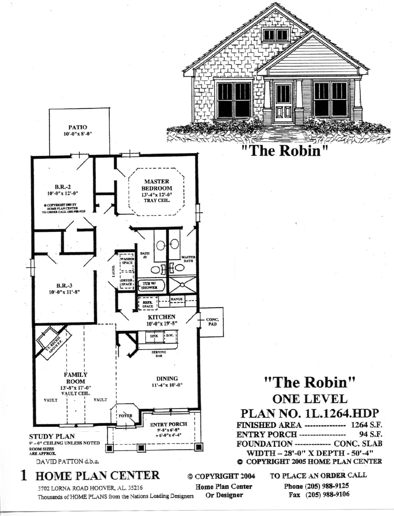 Single level house plans small single level house plans for Small single level house plans