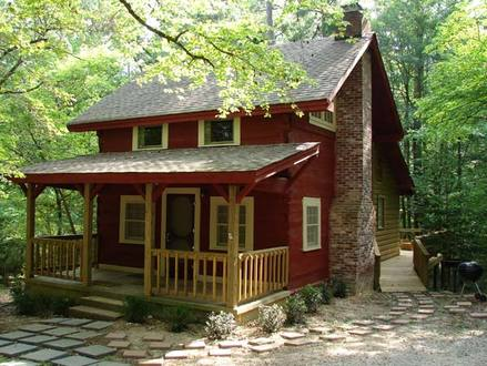 Small 2 Story Cabins 2 Story Log Cabin Plans