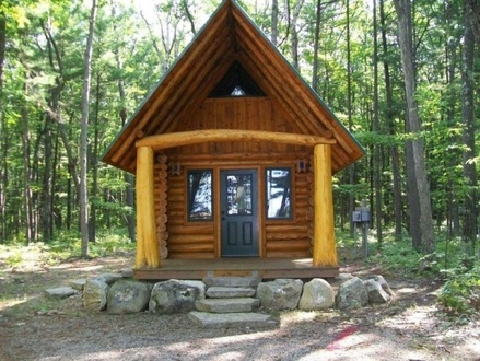 Small 500 Sq FT Log Cabin Homes 500 Sq FT Tiny House
