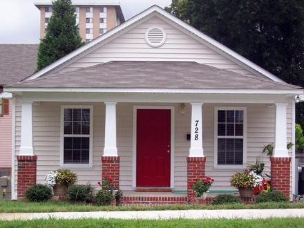 Small Bungalow House Plans Small Bungalow House Front Design