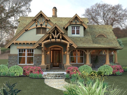 Small Craftsman Cottage House Plans Small Cottage Home\'s Interior
