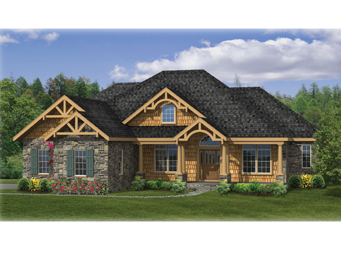 Small Craftsman Ranch House Plan Craftsman Ranch House Plans