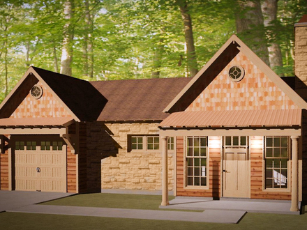 Small House Plans Under 1000 Sq FT Tiny Home House Plans