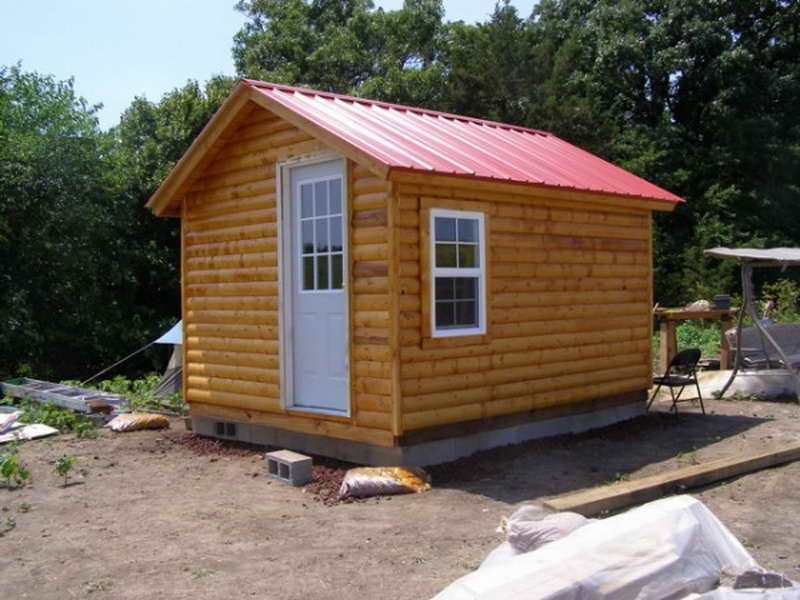 Small log cabin floor plans build small log cabin kits for Beach cabin kits