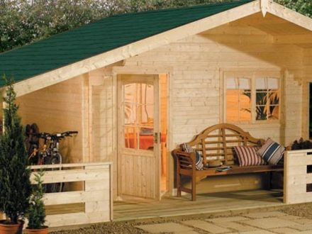 Small mountain cabin design modern small cabin floor plans for Cabin like houses