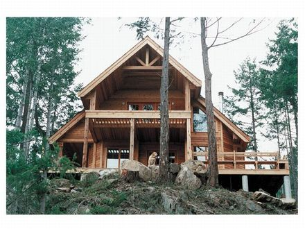 Small Mountain Cabin Mountain Home Small House Plans