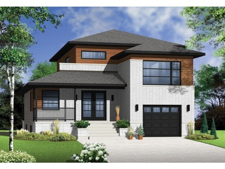 Small Narrow Lot House Plans Narrow Lot House Plans with Garage
