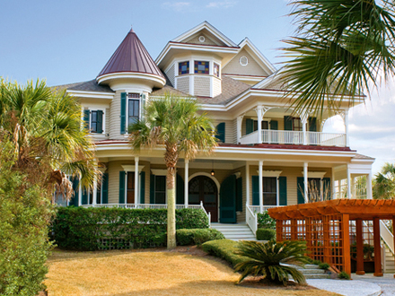 West indies style homes caribbean style homes island for Luxury home builders charleston sc