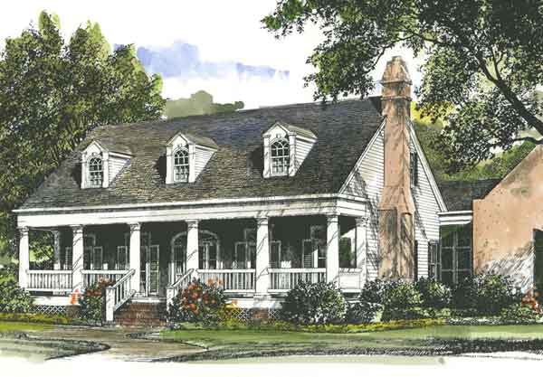 Southern Cottage Style House Plans Country Cottage House Plans