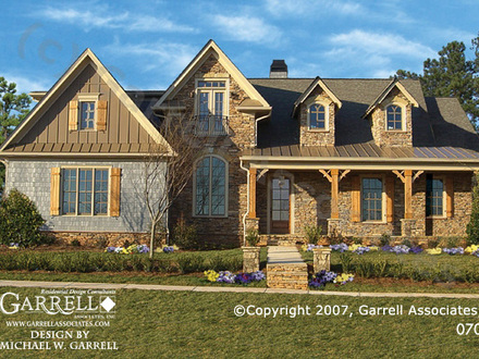 Texas Hill Country Farmhouse Hill Country Cottage House Plans