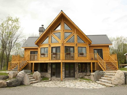 Timber Block Log Homes Log Cabin Homes