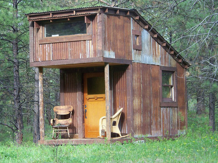 Tiny Hunting Cabin House Homemade Hunting Cabins