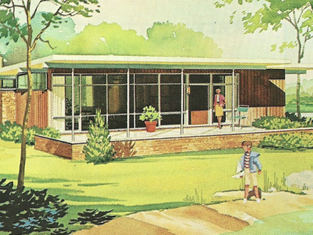 Vintage Vacation House Plans 1960s Vacation Homes Vintage Craftsman House Plans