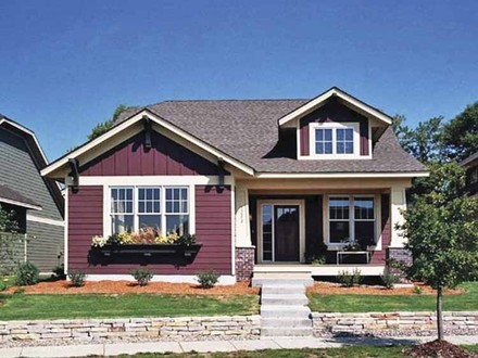 2 Story Craftsman Homes Single Story Craftsman Bungalow House Plans