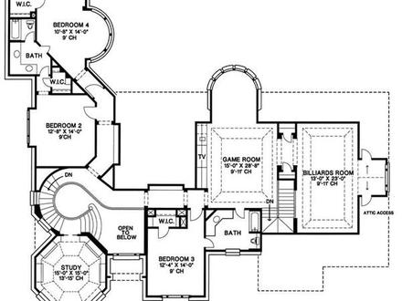 2 Story House Floor Plans 2 Floor Houses Real