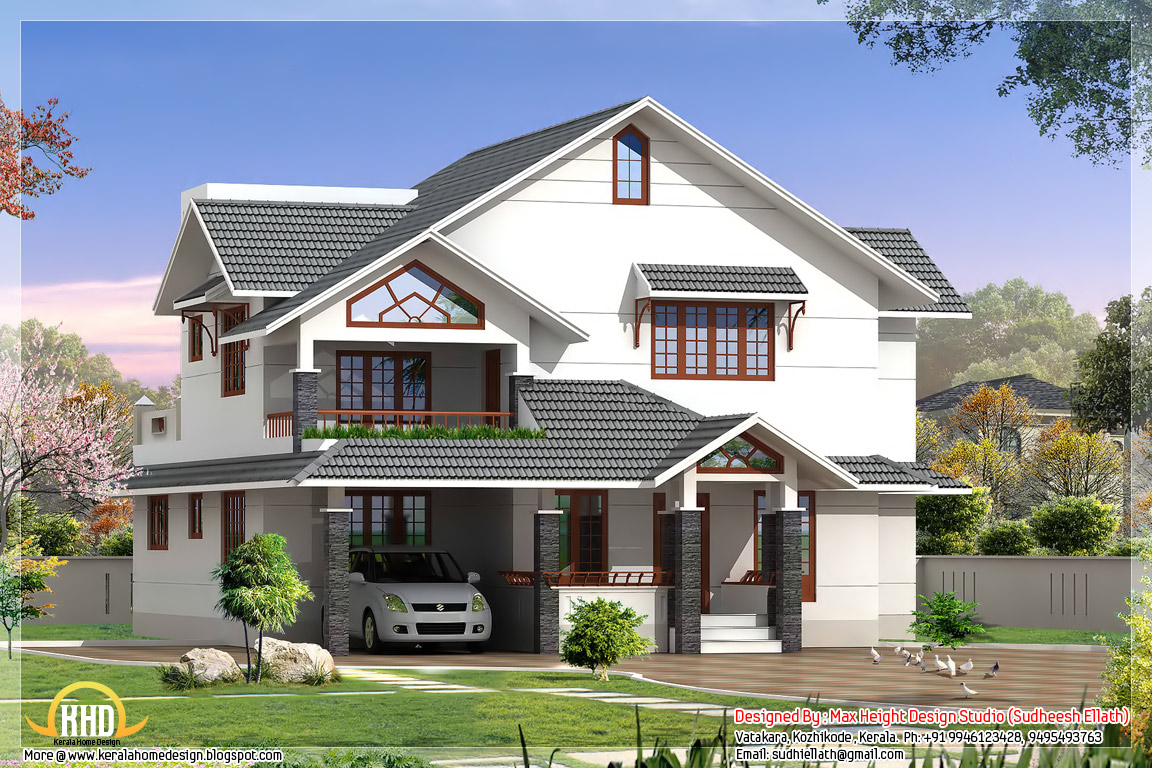 3d home architect 10 3d home design house indian style for 3d home architect