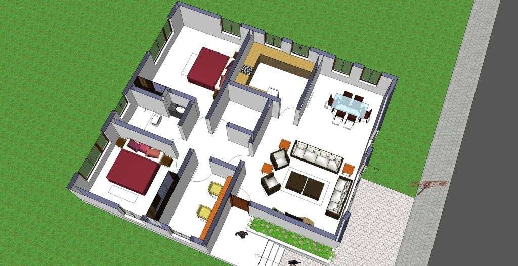 40X40 Metal Building Floor Plans Barndominium House Plans