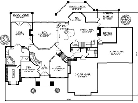 7 Bedroom House Plans 1 Story Simple 5 Bedroom House Plans