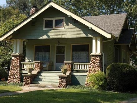 American Craftsman Bungalow Craftsman and Bungalow Style Homes