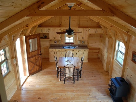 Amish Style House Plans Amish Cabin Company