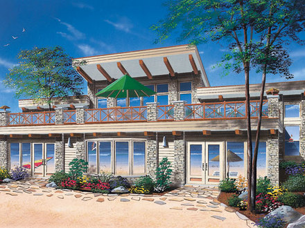 Elevated beach house plans small beach cottage house plans for Beach cottage plans on pilings
