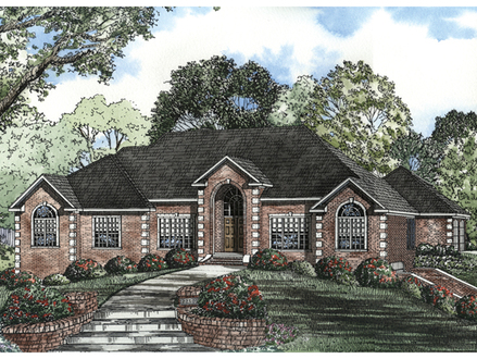 Brick Ranch Style House Plans Exterior Brick Ranch Houses