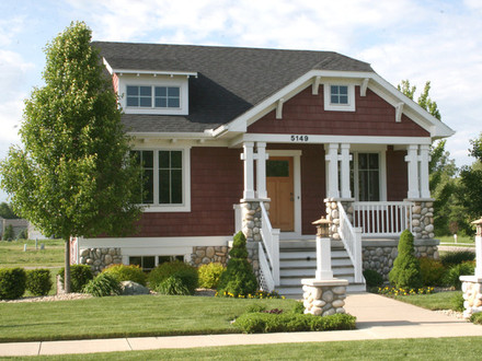 Bungalow Style Homes Bungalow style home Traditional Exterior grand rapids by
