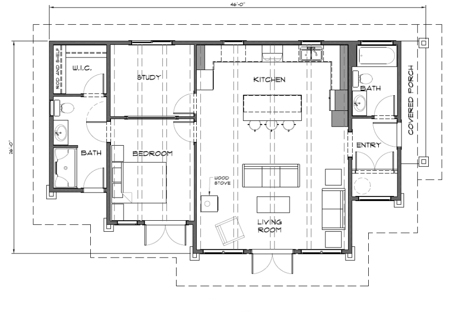 Cabin plans under 1000 square feet best dslr under 1000 for Cottage house plans under 1000 sq ft