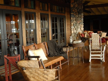 Cabin Screen Porch Ideas Lake Cabin with Screened in Porch