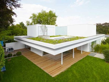 Concrete Homes with Flat Roofs Flat Roof Modern House Designs