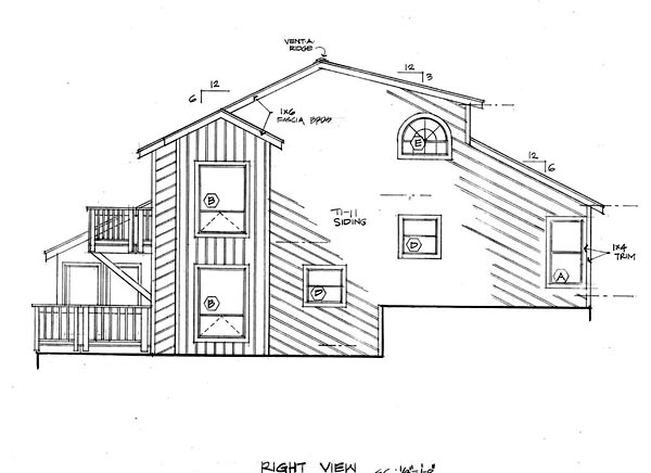 Contemporary passive solar house plans coastal for Passive solar ranch house plans