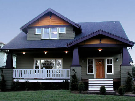 Craftsman Bungalow Style Home Plans Ranch Style Homes Craftsman