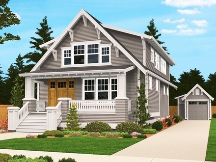 Craftsman Miniature House Vintage Craftsman Style House Plans