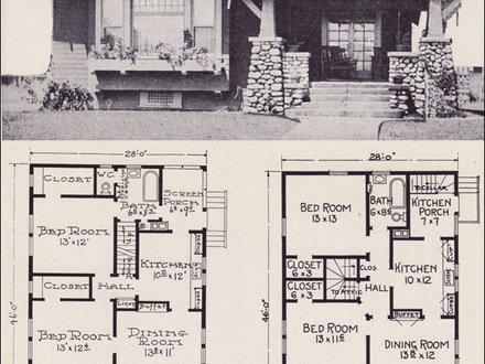 Craftsman Style Bungalow House Plans Federal Style House