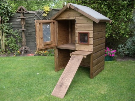 DIY Outdoor Cat House Outdoor Cat House