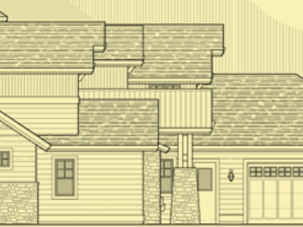 Elevation Views of Houses House Plans : Elevation Details : Multi Gabled Craftsman Classic