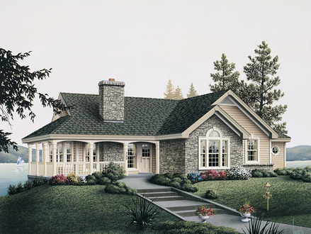 English Cottage House Plans Country Cottage House Plans with Porches