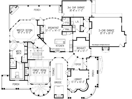 Tidewater house floor plan cotswold cottage floor plans for Tidewater house plans