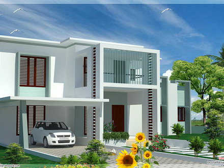 Flat Roof Modern House Plans Flat Roof Homes