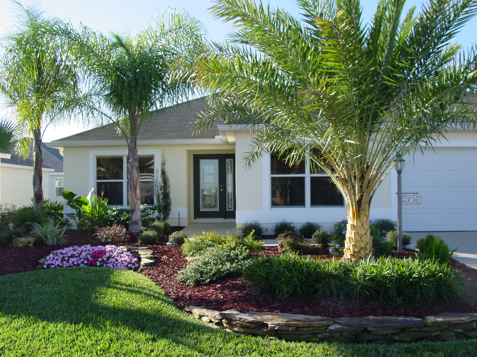 Florida Home Landscaping Ideas Florida Tropical ... on Tropical Landscaping Ideas For Small Yards id=77799