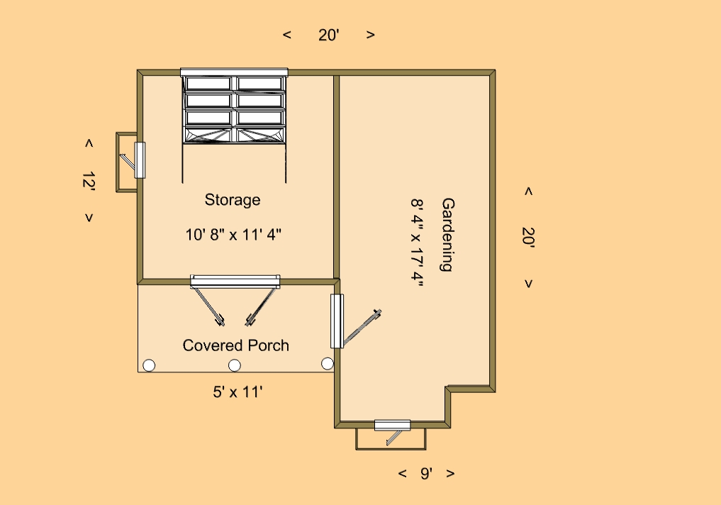 From shed to house shed house floor plans cozy house for Shed home floor plans